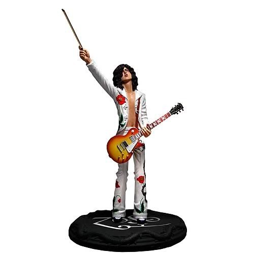STATUE ICÔNE DU ROCK JIMMY PAGE PUPPY SUIT LED ZEPPELIN 1