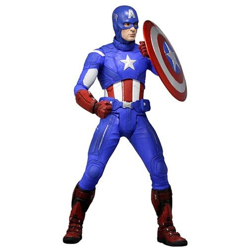 MARVEL CAPTAIN AMERICA 1/4 SCALE ACTION FIGURES 1