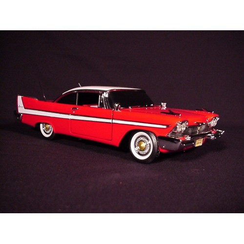 CHRISTINE EVIL 1958 PLYMOUTH FURY DIECAST 1/18 SCALE VEHICLE 1