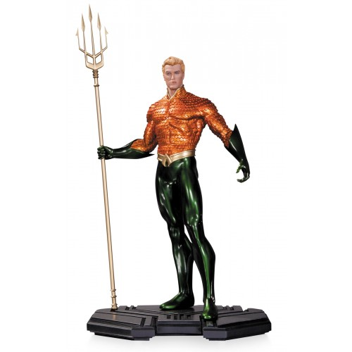 DC COMICS ICONS AQUAMAN 1/6 SCALE STATUE 1