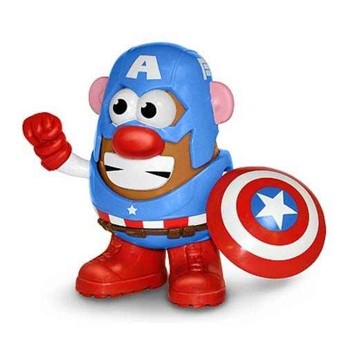 FIGURINE MR PATATE MARVEL CAPITAINE AMERICA 1
