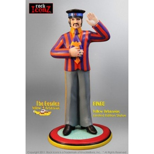 THE BEATLES YELLOW SUBMARINE RINGO STARR ROCK ICONZ STATUE 1