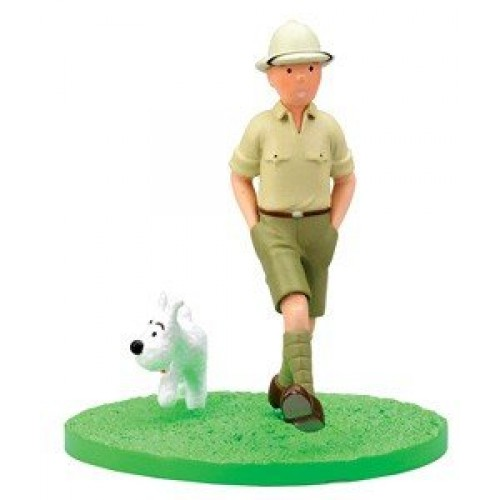 TINTIN BOX SCENE TINTIN AND SNOWY EXPLORATOR 1