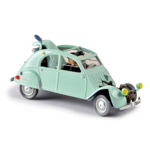 TINTIN VEHICLE THE CASTAFIORE EMERALD DIECAST 1/43 SCALE 1