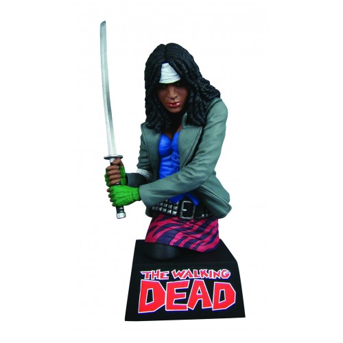 THE WALKING DEAD BUST BANK MICHONNE 1