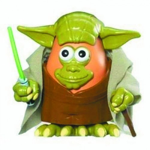 FIGURINE Star Wars MR PATATE YODA 1