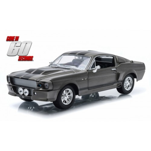 1967 FORD MUSTANG ELEANOR GONE IN 60 SECONDS  1/24 SCALE DIECAST VEHICLE 1