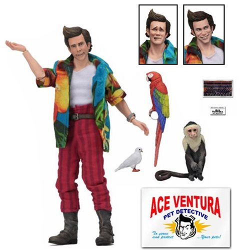 ACE VENTURA 8 INCH CLOTED FIGURE 1