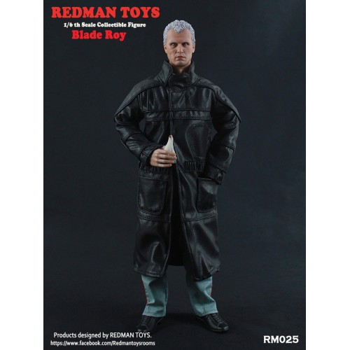 FIGURINE CHEF DES RÉPLICANTS ROY BATTY RUTGER HAUER BLADE RUNNER 1982 ÉCHELLE 1/6 1