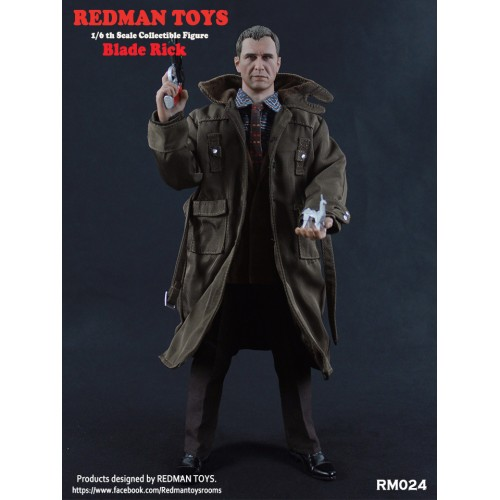 BLADE RUNNER 1982 RICK DECKARD HARRISON FORD 1/6 SCALE FIGURES 1