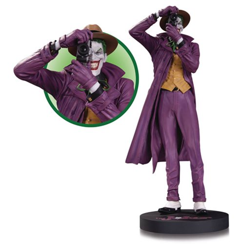 DC COMICS DESIGNER SERIES JOKER BY BRIAN BOLLAND THE KILLIG JOKE STATUE 1