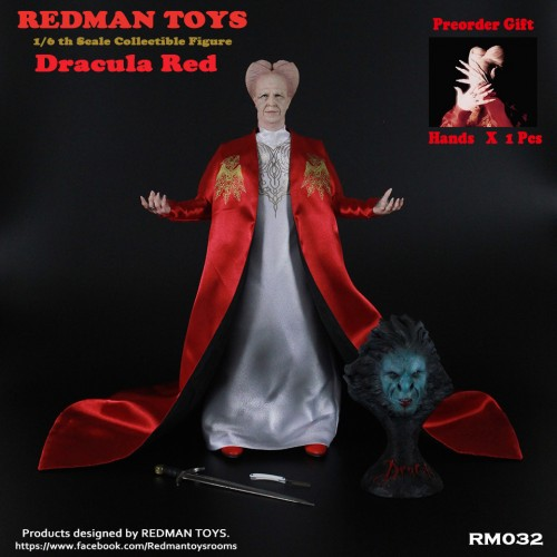 DRACULA RED BRAM STOKER 1992 1/6 SCALE FIGURE 1