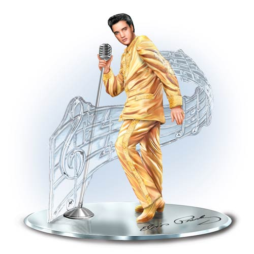 Elvis Presley TREASURED REFLECTIONS STATUE 1