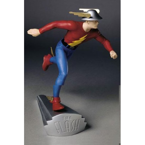 FLASH THE GOLDEN AGE STATUE 1