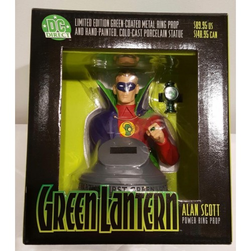 GREEN LANTERN ALEN SCOTT POWER RING PROP BUST 1