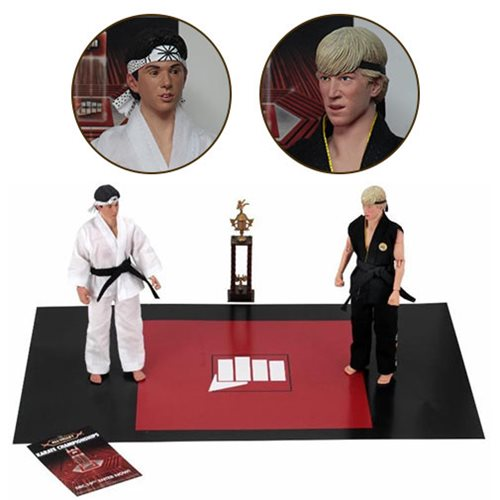 KARATE KID TOURNAMENT 8 INCH CLOTHED FIGURE 2-PACK 1