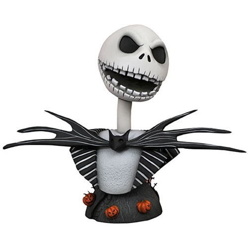 LEGENDS IN 3D NIGHTMARE BEFORE CHRISTMAS JACK SKELLINGTON 1/2 SCALE BUST 1