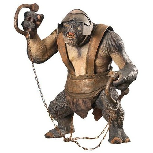 LORD OF THE RINGS ELECTRONIC ARMORED TROLL FIGURES 1