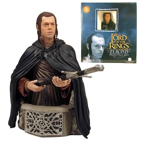LORD OF THE RINGS ELROND BUST 1