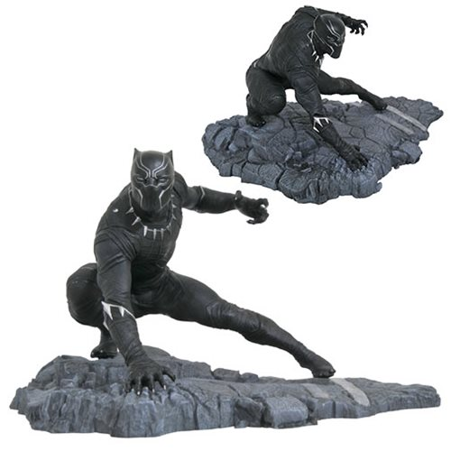 STATUE BLACK PANTHER MARVEL GALLERY 1