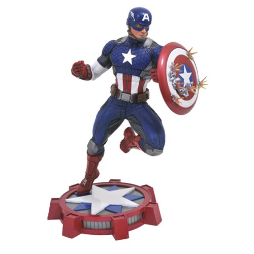 STATUE CAPITAINE AMERICA MARVEL GALLERY 1