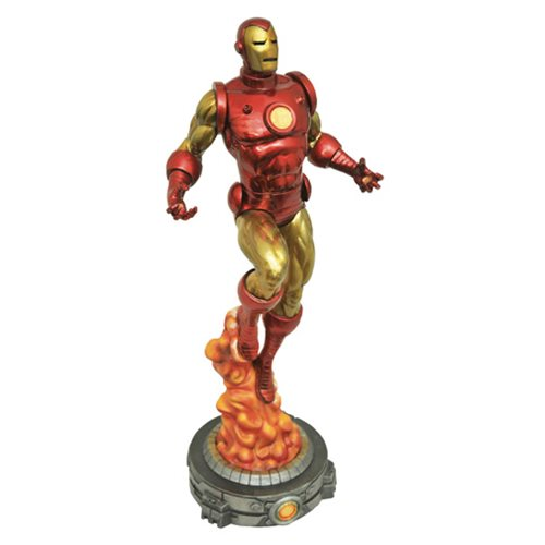 MARVEL GALLERY IRON MAN BY BOB LAYTON STATUE 1