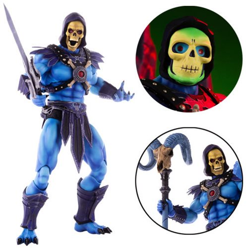 MASTERS OF THE UNIVERSE SKELETOR 1/6 SCALE FIGURE 1