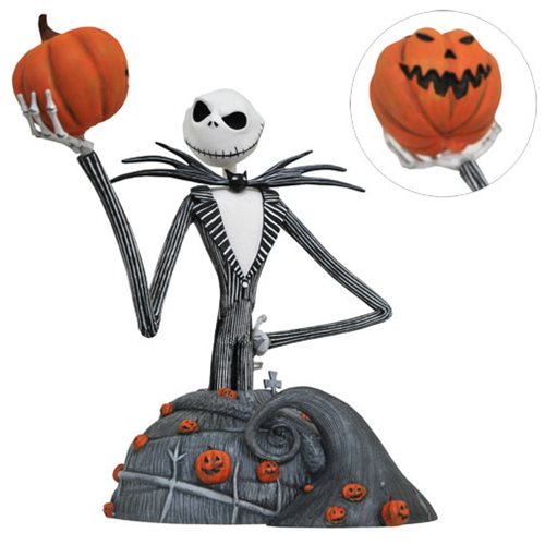 NIGHTMARE BEFORE CHRISTMAS JACK RESIN BUST 1