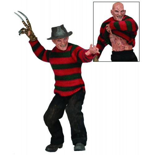 NIGHTMARE ON ELM ST 3 FREDDY 8IN CLOTHED FIGURES 1