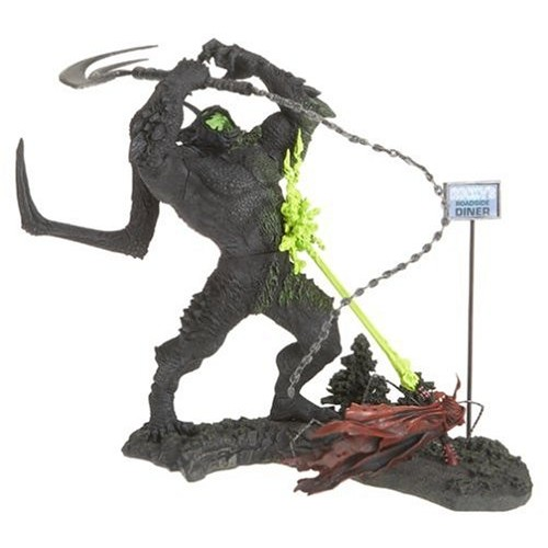 SPAWN VS URIZEN SCENE DELUXE FIGURES 1