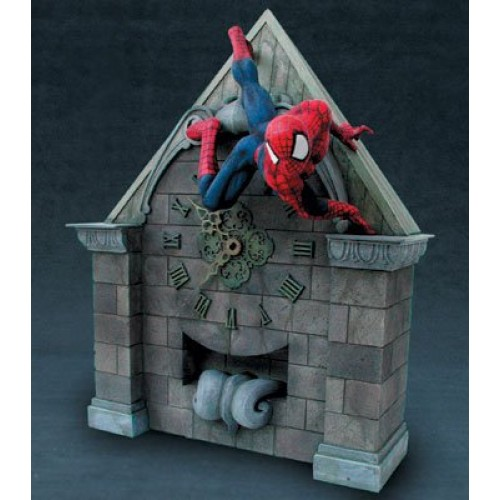 SPIDER-MAN CLOCK TOWER STATUE 1