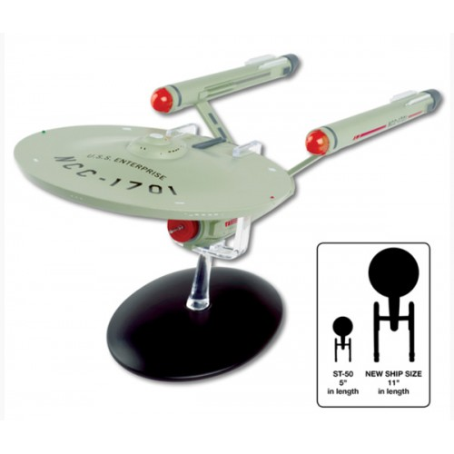 STAR TREK USS ENTERPRISE NCC-1701 SPECIAL EDITION LARGE MODEL 11 INCH DIECAST VEHICLE 1