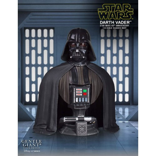STAR WARS DARTH VADER 40TH ANNIVERSARY CLASSIC BUST 2017 CONVENTION EXCLUSIVE 1
