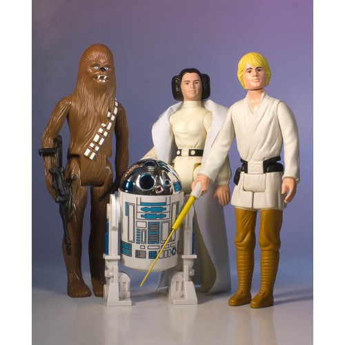 STAR WARS KENNER JUMBO EARLY BIRD 4 PACK SET 12 INCH FIGURES 1