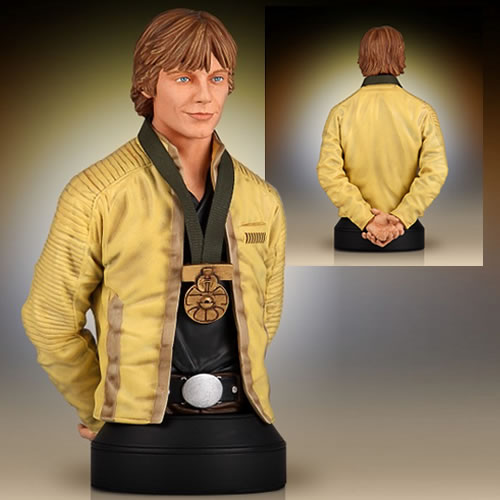 STAR WARS LUKE SKYWALKER HERO OF YAVIN BUST 1