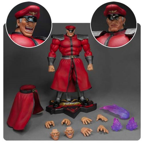 STREET FIGHTER V MR. BISON 1/12 SCALE FIGURE 1