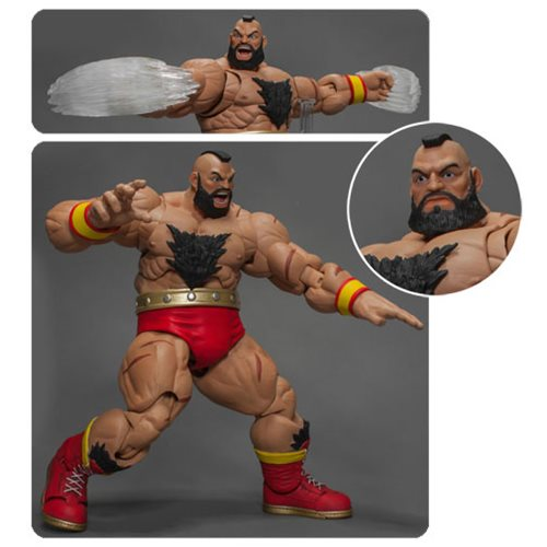 STREET FIGHTER V ZANGIEF 1/12 SCALE FIGURES 1