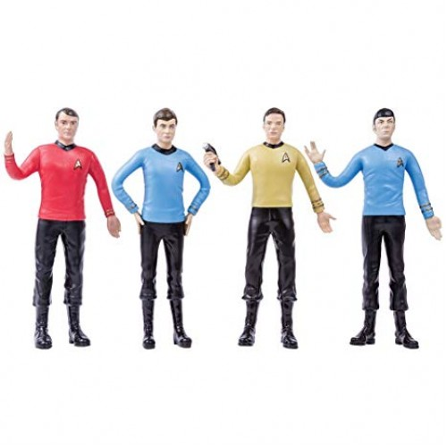 ENSEMBLE DE FIGURINES FLEXIBLES Star Trek LA SÉRIE ORIGINALE CHAMBRE DES TRANSPORTS 1