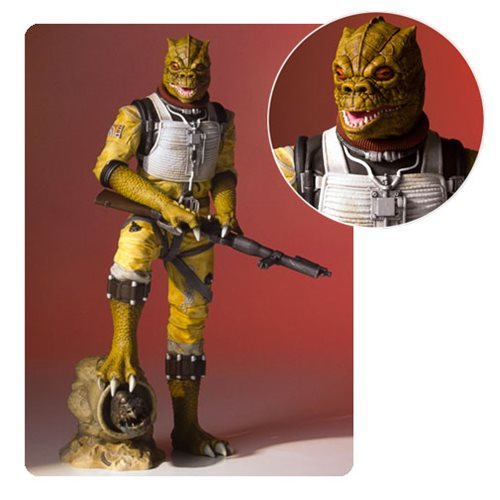 STATUE Star Wars BOSSK COLLECTOR'S GALLERY ÉCHELLE 1/8 1