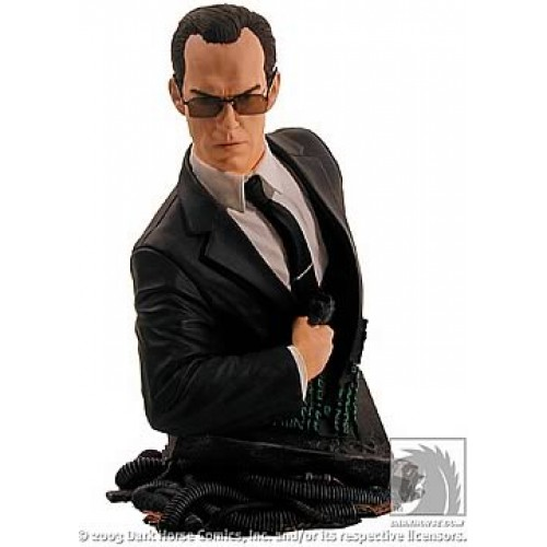 THE MATRIX AGENT SMITH BUST 1