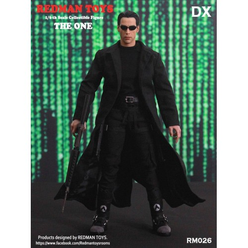 FIGURINE  THE ONE NEO KEANU REEVES LA MATRICE ÉCHELLE 1/6 1