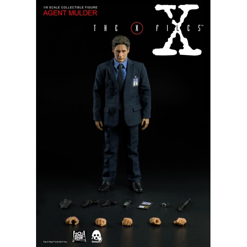 FIGURINE THE X-FILES AGENT FOX MULDER ÉCHELLE 1/6 1