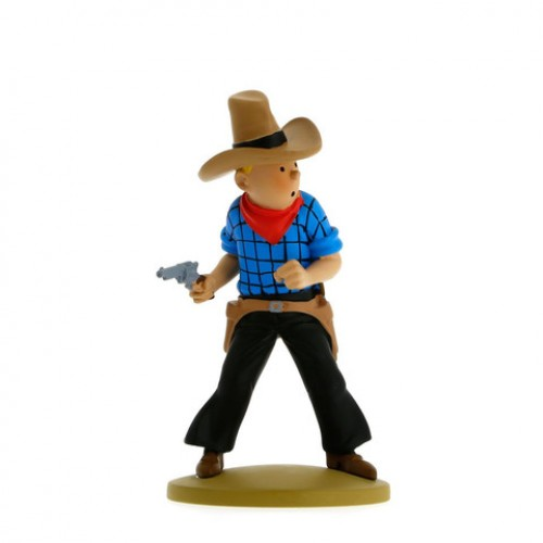 TINTIN DRAWS HIS GUN FIGURES 1