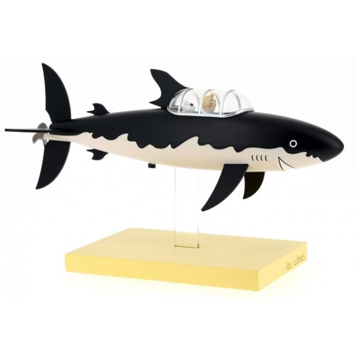 TINTIN SHARK SUBMARINE  ICONS COLLECTION STATUE 1