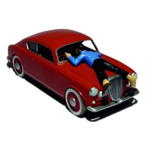 TINTIN THE CALCULUS AFFAIR LACIA OF THE ITALIAN BLUE BOX DIECAST 1/43 SCALE 1