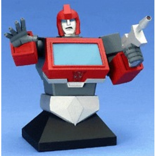 TRANSFORMERS IRONHIDE BUST 1