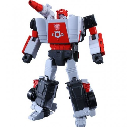 FIGURINE TRANSFORMERS MP-14 MASTER PIECE RED ALERT VERSION ANIME AVEC COLLECTOR COIN 1