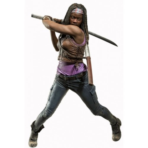 FIGURINE DE LUXE MICHONNE  The Walking Dead 10 POUCES 1