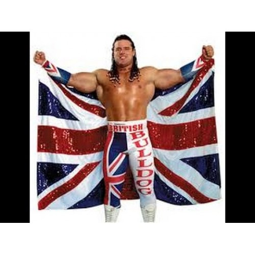 WWE BRITISH BULLDOG ELITE FIGURE 1