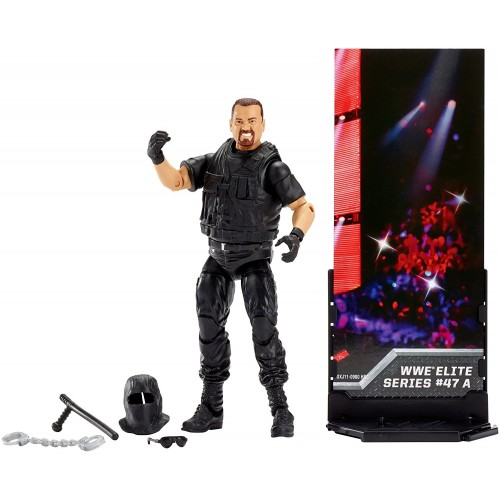 WWE ELITE BIG BOSS MAN FIGURE 1